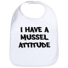 MUSSEL attitude Bib