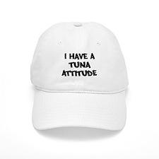 TUNA attitude Baseball Cap