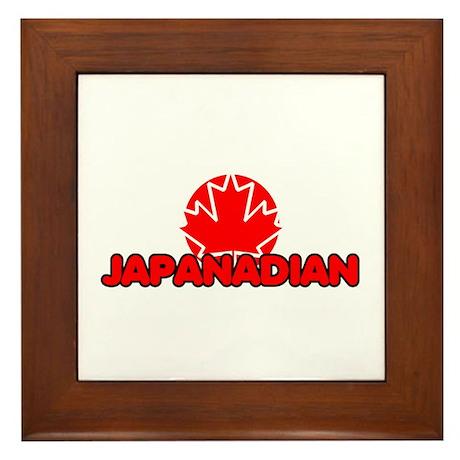 Japanadian Framed Tile
