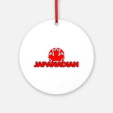 Japanadian  Ornament (Round)