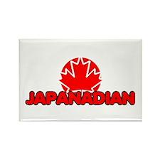 Japanadian Rectangle Magnet