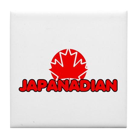 Japanadian Tile Coaster