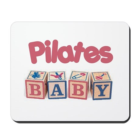 Pilates Baby #1 Mousepad