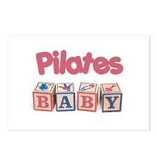 Pilates Baby #1 Postcards (Package of 8)