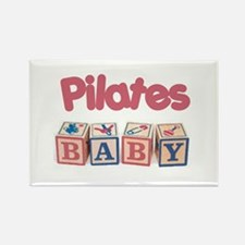 Pilates Baby #1 Rectangle Magnet