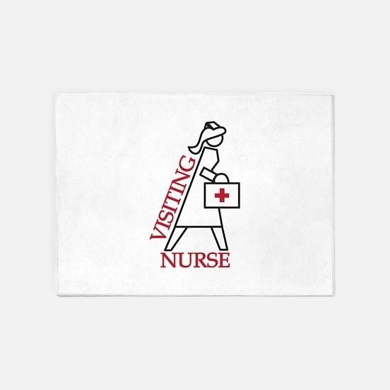 Visiting Nurse 5'x7'Area Rug