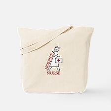 Hospice Nurse Tote Bag