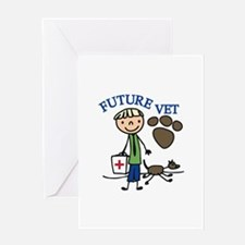 Future Vet Greeting Cards