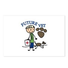Future Vet Postcards (Package of 8)