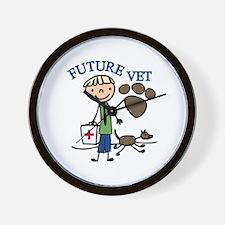 Future Vet Wall Clock