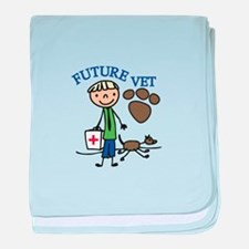 Future Vet baby blanket