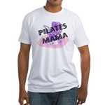 Pilates Mama Fitted T-Shirt