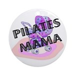 Pilates Mama Ornament (Round)