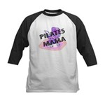 Pilates Mama Kids Baseball Jersey