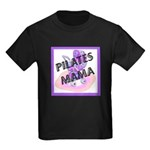 Pilates Mama Kids Dark T-Shirt