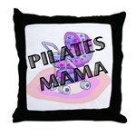 Pilates Mama Throw Pillow