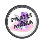 Pilates Mama Wall Clock