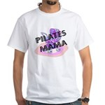Pilates Mama White T-Shirt