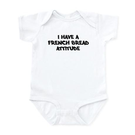 FRENCH BREAD attitude Infant Bodysuit