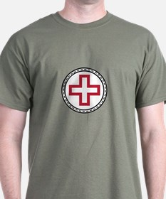 Circled Red Cross T-Shirt