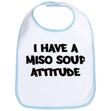 MISO SOUP attitude Bib
