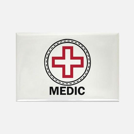 Medic Red Cross Magnets