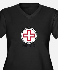 Medic Red Cross Plus Size T-Shirt
