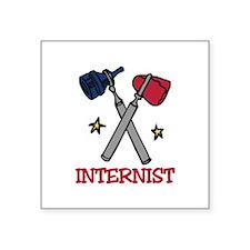 Internist Sticker