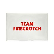 Team Fire Crotch - Lohan Rectangle Magnet