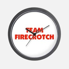 Team Fire Crotch - Lohan Wall Clock