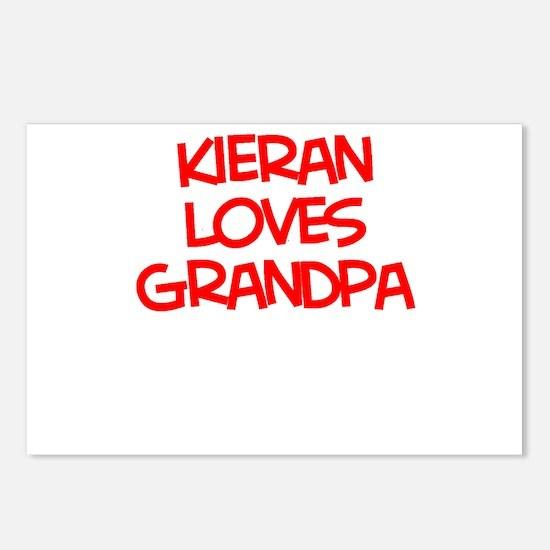 Kieran Loves Grandpa Postcards (Package of 8)