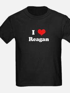 I Love Reagan T