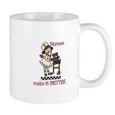 Nurse Make it Better Mugs