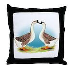 Goose and Gander Throw Pillow