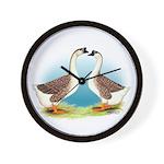 Goose and Gander Wall Clock