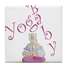 Yoga Baby #5 Tile Coaster