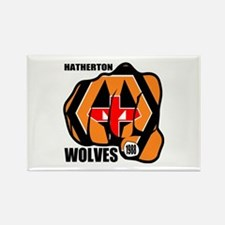 Hatherton Arms Wolves England Fis Rectangle Magnet