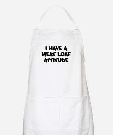 MEAT LOAF attitude BBQ Apron