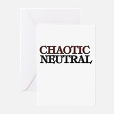 Chaotic Neutral Greeting Cards (Pk of 10)