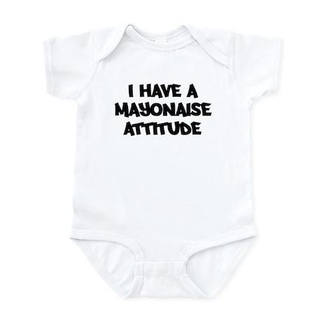 MAYONAISE attitude Infant Bodysuit