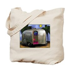 AIRSTREAM TYPE FLAMINGO Tote Bag