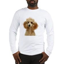 Apricot Poodle Puppy Long Sleeve T-Shirt