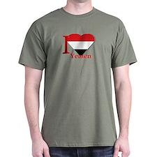 I love Yemen T-Shirt