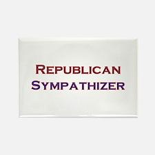 Republican Sympathizer Rectangle Magnet