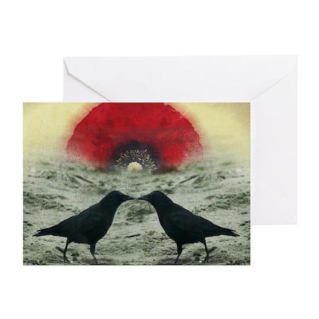 """Poppy Sunrise"" Greeting Cards (Pk of 10)"