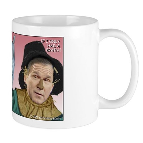 Bush/Cheney Oz Parody Mug