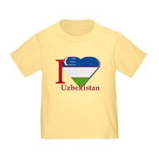 I love Uzbekistan T