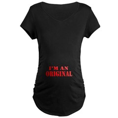 I'm An Original Maternity Black Shirt