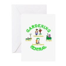 Gardening Central.(1):-) Greeting Cards (Package o