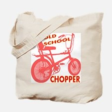 Old School Chopper Tote Bag